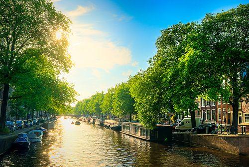 Sommer Amsterdam von Martijn Kort
