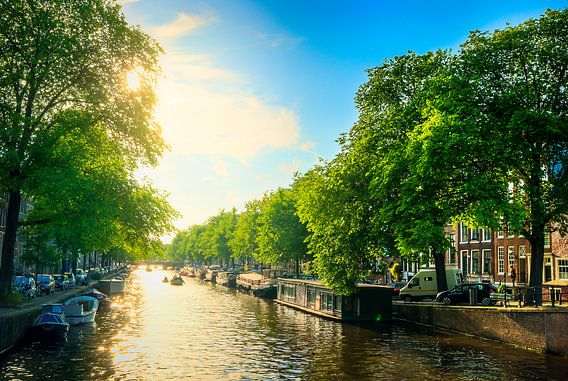 Zomers Amsterdam van Martijn Kort