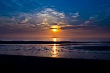 Coucher de soleil à la bataille de Wassenaar sur Ricardo Bouman