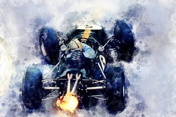 Jack Brabham, Back von Theodor Decker