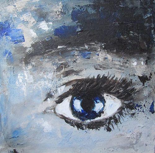 Blue eye von Linda Dammann