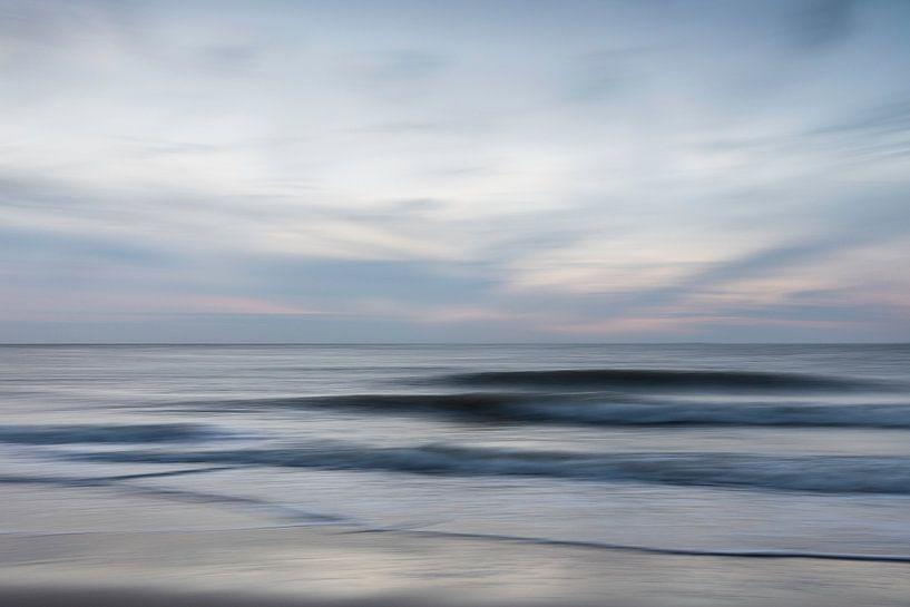 Zonsondergang aan de Noordzee van Vandain Fotografie