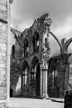 Melrose Abbey in Schotland von Floris van Woudenberg