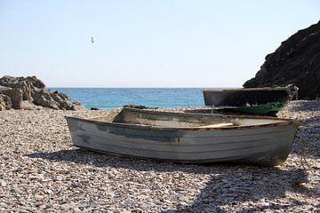 The Two Boats sur Cornelis (Cees) Cornelissen