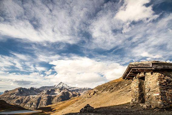 Uitzicht vanaf Col de l'Iseran van Dirk Jan Kralt