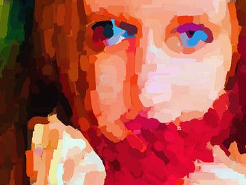 Blue eyes van Judith Robben