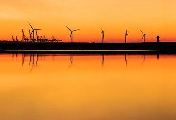 Hoek van Holland Windmolens van