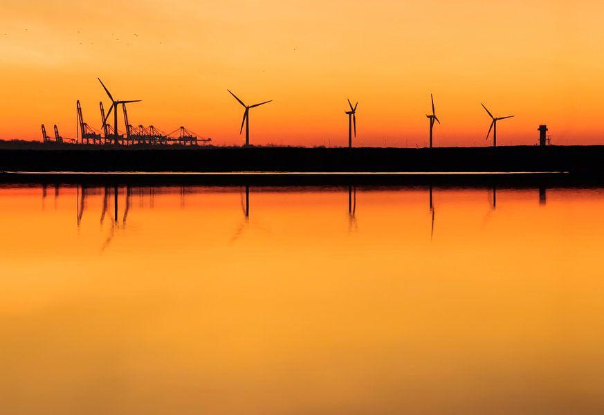 Hoek van Holland Windmolens