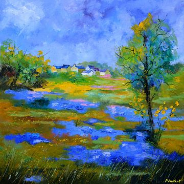 Fleurs sauvages bleues von