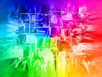 Explosion Regenbogen von Katrin Behr
