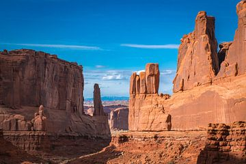 Het Wilde Westen in Arches NP, Utah van Rietje Bulthuis