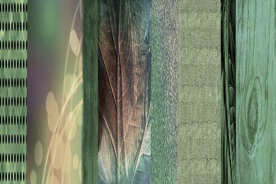 verticaal groen, patroon