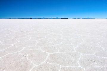 De zoutwoestijn in Bolivia bij Uyuni. Wout Kok One2expose von