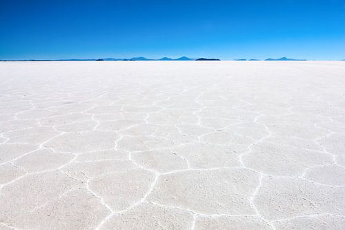 De zoutwoestijn in Bolivia bij Uyuni. Wout Kok One2expose von Wout Kok