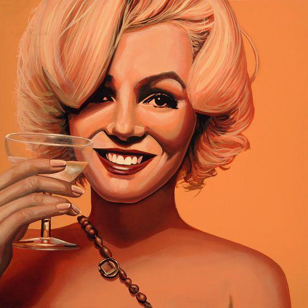 Marilyn Monroe Schilderij 5 van Paul Meijering