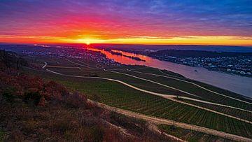 Sonnenaufgang Rüdesheim von Jens Sessler