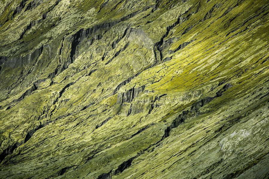 Detail van de Bromo Vulkaankrater -  Oost-Java, Indonesië