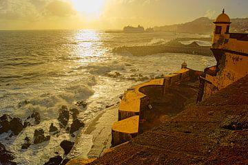 Fortaleza de São Tiago, Funchal van Michel van Kooten