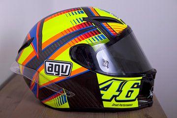 Valentino Rossi helm van Ralph van Houten