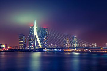 Erasmusbrug, Rotterdam von Martijn van der Nat