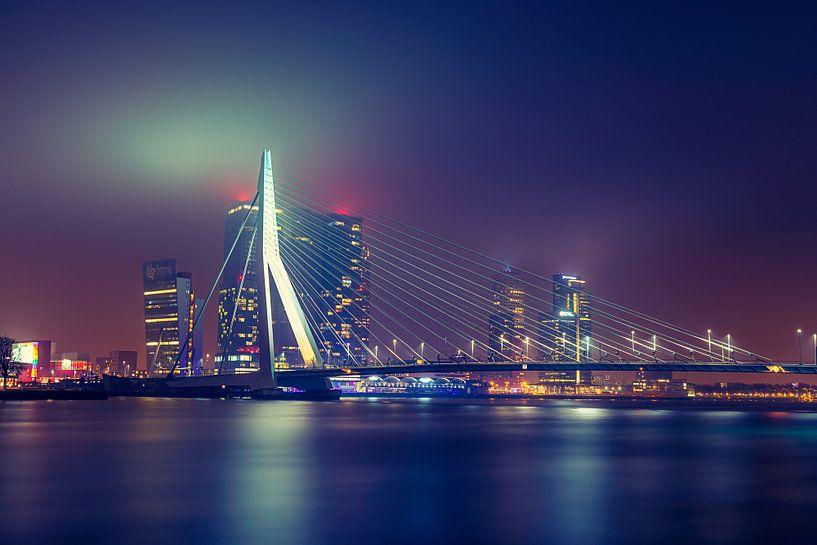 Erasmusbrug, Rotterdam van Martijn van der Nat