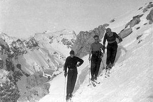 1930er Jahren Skifahren