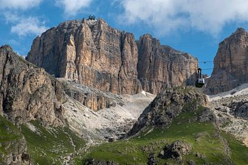 Dolomieten, Italie van Richard van der Woude