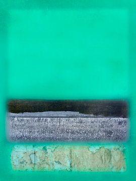 Grün und Grau im Geist von Rothko von Kok and Kok