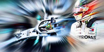 Lewis Hamilton van Jean-Louis Glineur alias DeVerviers