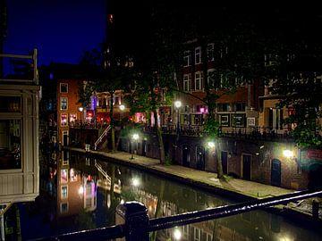 Vanuit de Gaardbrug, Utrecht. van George Ino