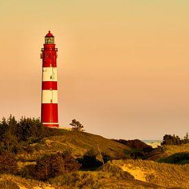 Amrum - Leuchtturm im Abendrot von Reiner Würz / RWFotoArt