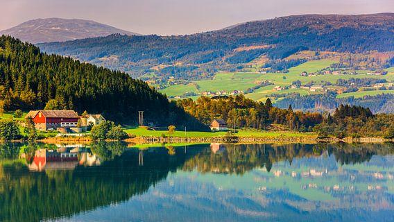 Bergheimsvatnet, Gloppen, Sogn og Fjordane, Norway