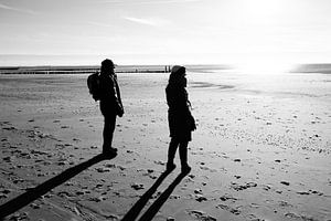 Zoutelande - Strandwandeling van