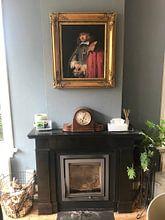 Klantfoto: Portret van Jan Six, Rembrandt, op canvas