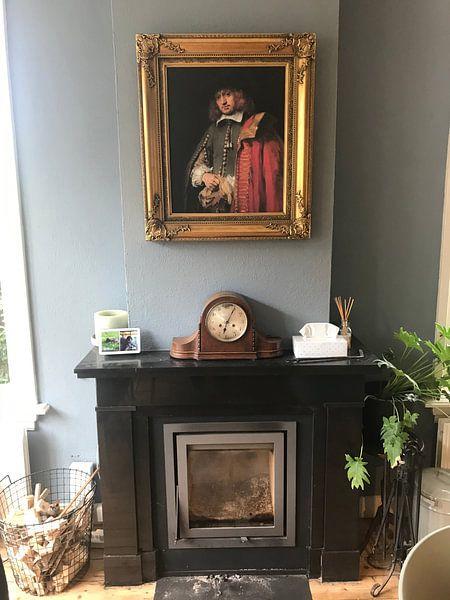 Klantfoto: Portret van Jan Six, Rembrandt
