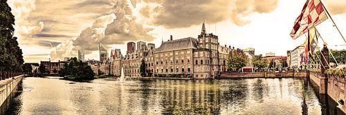 Binnenhof in Den Haag Nederland