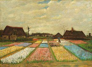 Vincent van Gogh. Bloembedden in Holland van