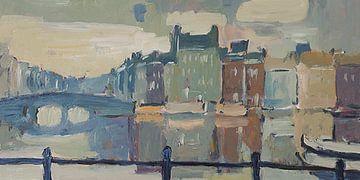 Amsterdam Amstelgracht von Nop Briex