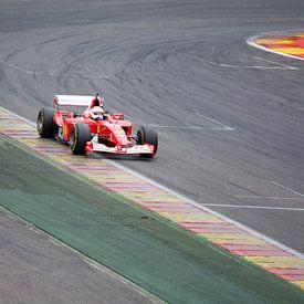 Ferrari F1 bolide F2002 van Tim Vlielander