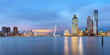 Zicht op Rotterdam, Nederland van Adelheid Smitt