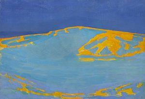 Sommer, Düne in Zeeland, Piet Mondrian