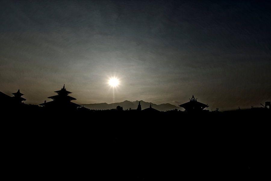 skyline of an ancient city van rene schuiling