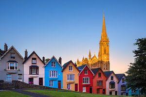 St Colman's Kathedraal, Cobh, Ierland van Henk Meijer Photography