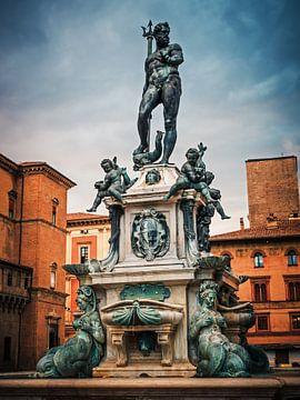 Bologna - Fontana del Nettuno sur