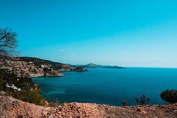 Uitzicht Ibiza van Mandy Jonen