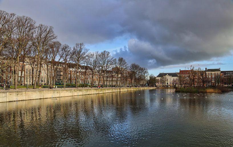 De Hofvijver in Den Haag van Jan Kranendonk