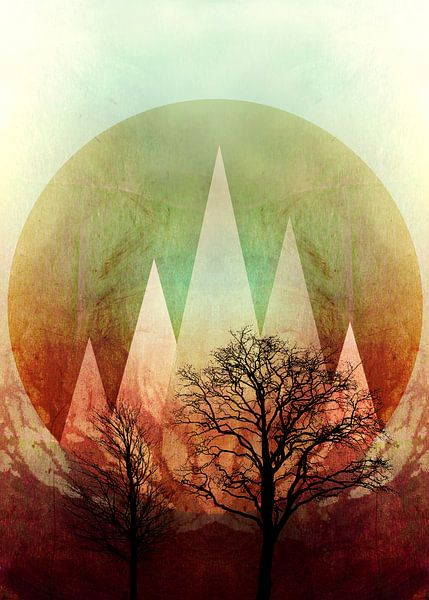 TREES under MAGIC MOUNTAINS I