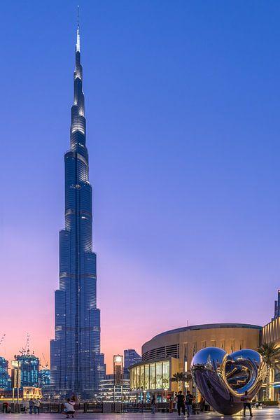Burj Khalifa Sunset van Bart Hendrix