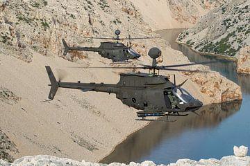 Kroatische Luftwaffe OH-58D Kiowa-Krieger von Dirk Jan de Ridder