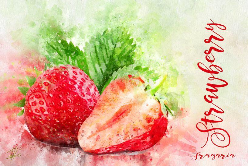 Erdbeeren von Theodor Decker